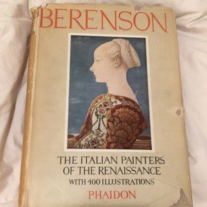 "Berenson ""The Italian painters of the Renaissance"""